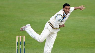 Adil Rashid: Picked up four wickets as Durham were bowled out for 231 first time around