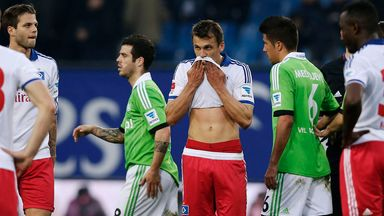 Ivo Ilicevic: Frustrated after Hamburg's defeat to Wolfsburg