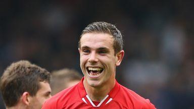 Jordan Henderson: delighted at new responsibility
