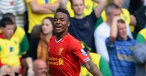 Raheem Sterling: Youngster scored the first goal of the match
