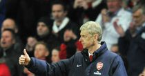 Arsene Wenger: Gives thumbs up to Arsenal display