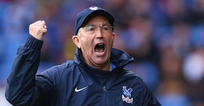 Pulis wants to push Palace on