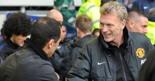 David Moyes: Endured an afternoon to forget at the home of his former employers