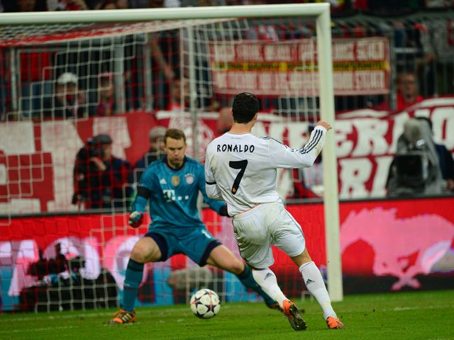 Cristiano Ronaldo: Scored the third and fourth goals for Madrid