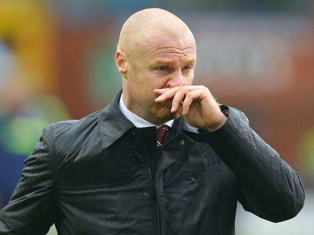 Dyche: Not complimentary about the referee