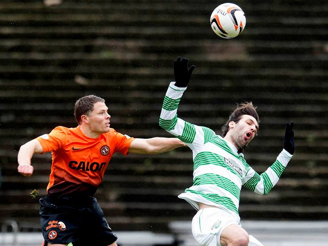 John Rankin and Georgios Samaras tangle