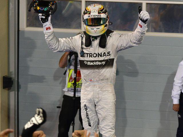 Lewis Hamilton: Bahrain winner