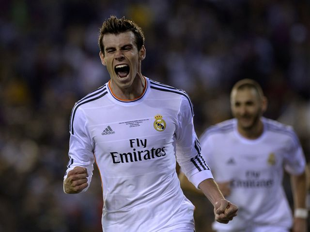 Gareth Bale scored the winning goal in the final