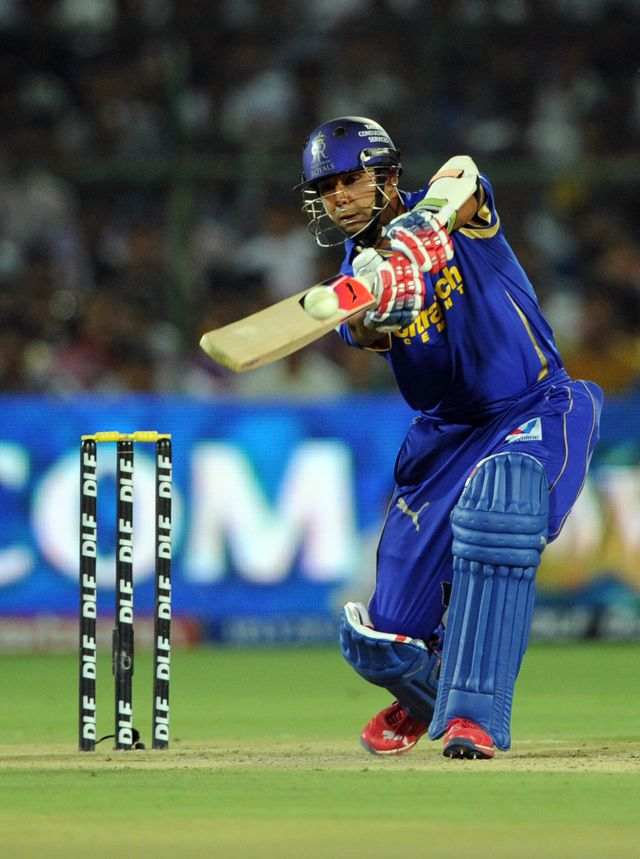 Stuart Binny: Rajasthan Royals batsman finished 48 not out