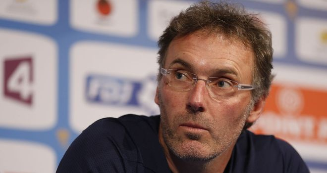 Laurent Blanc: PSG coach delighted to be staying at the club