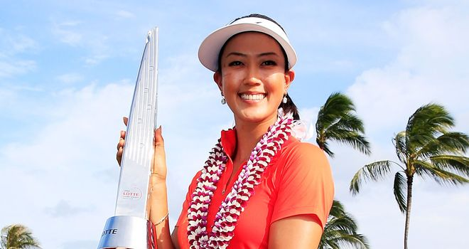 Michelle Wie: Now has three LPGA career titles