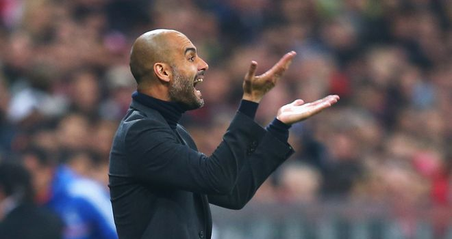 Pep Guardiola: Endured an evening to forget as Bayern Munich crashed out of Europe