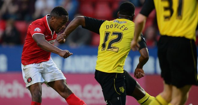 Callum Harriott: Important double for Charlton