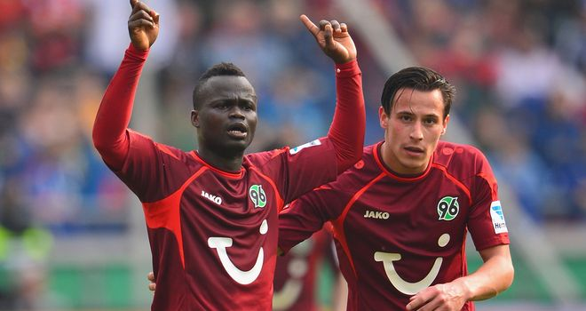 Didier Ya Konan sealed the win for Hannover