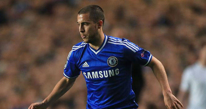 Eden Hazard: Chelsea star being troubled by a calf injury