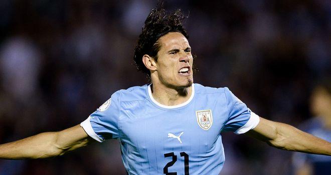 Edison Cavani: Pivotal in Uruguay win