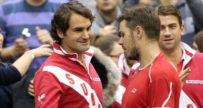 Roger Federer and Stanislas Wawrinka: Singles triumphs on Sunday