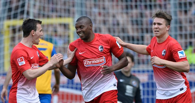 Freiburg proved too good for the visitors