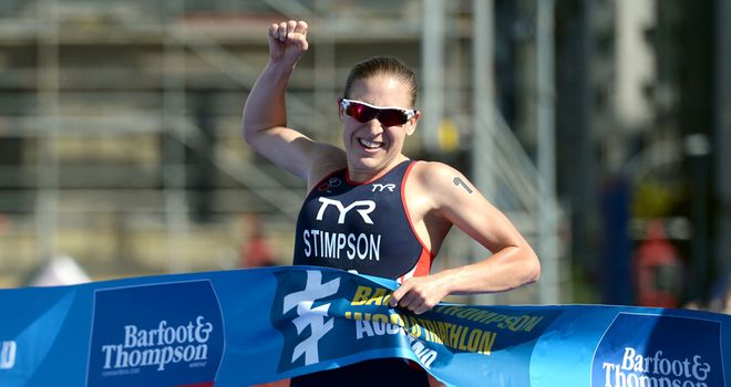 Jodie Stimpson: Cape Town success for Briton