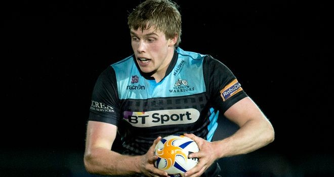 Jonny Gray: Scored his first PRO12 try