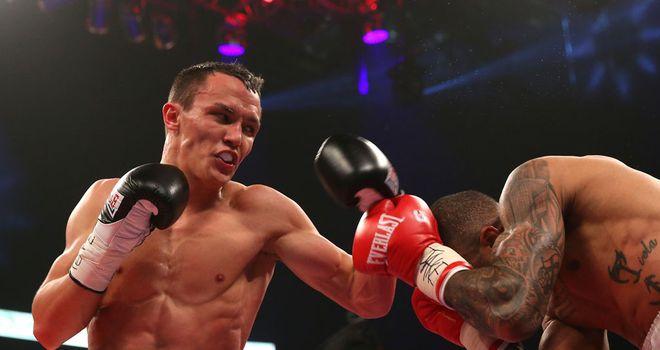 Josh Warrington: Five-fight Matchroom deal