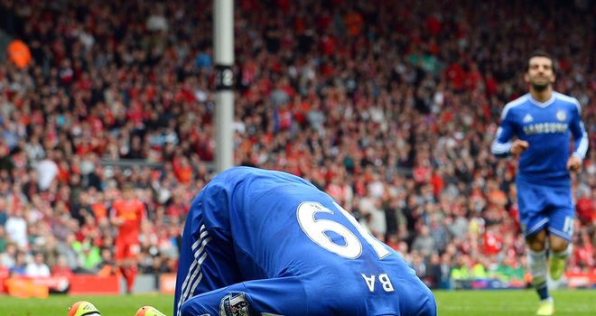 Demba Ba notched the opener