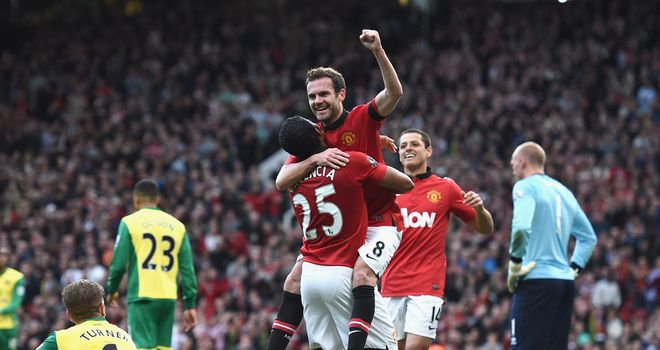 Juan Mata: Stepped off the bench to wrap up the points for United