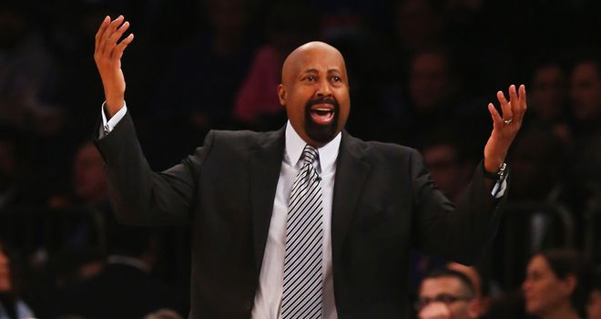 Mike Woodson: Sacked by Knicks president Phil Jackson