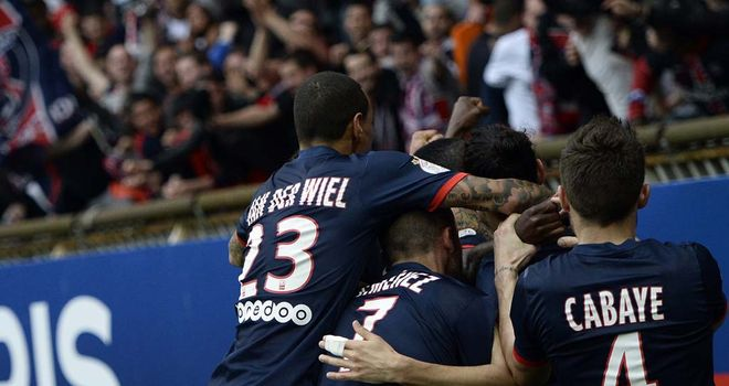 PSG celebrate Matuidi's late winner