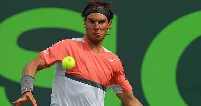 Rafa Nadal: Admits he has work to do heading into the clay court season