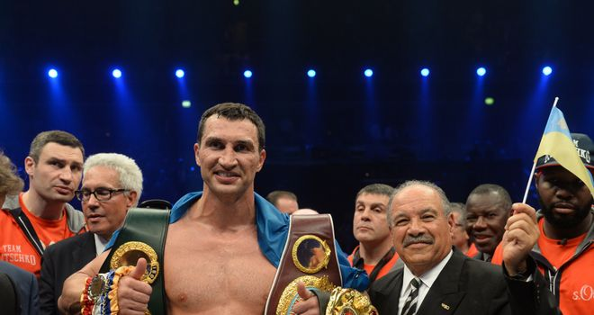 Wladimir Klitschko: Will defend his titles against Kubrat Pulev in September