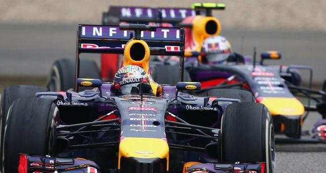 Sebastian Vettel: Not cutting edge at the moment