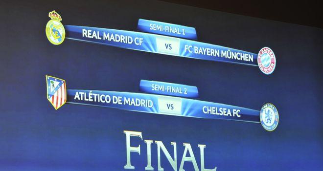 Liga Champions  - Ini Dia Jadwal Semi Final Liga Champions 2014