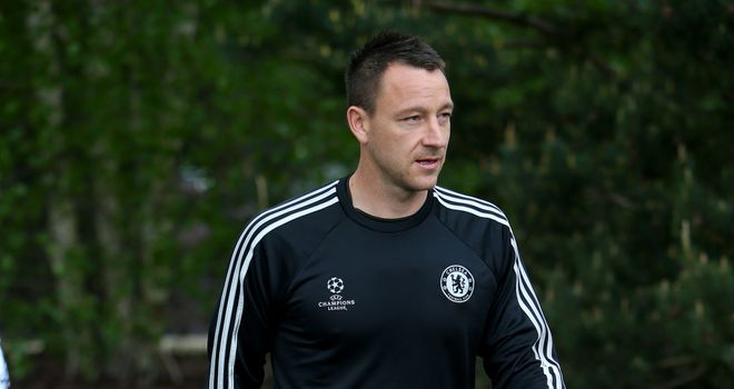 John Terry: Chelsea captain fit for Atletico Madrid showdown