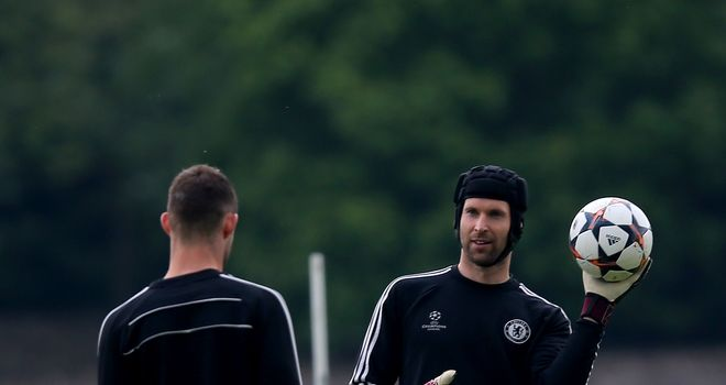 Petr Cech: Faces a bug scrap to get his keeper's jersey back