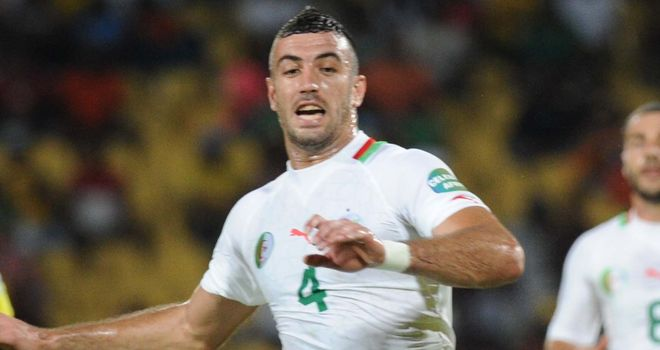 Essaid Belkalem: Scored the opener in Algeria's 3-1 win over Armenia