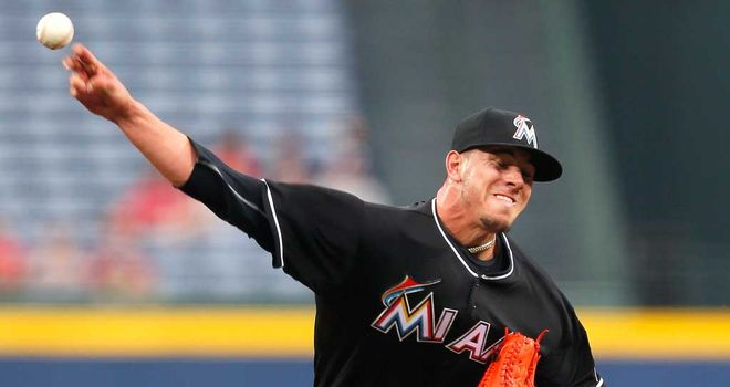 Jose Fernandez: The Marlins pitcher held Atlanta scoreless for 16 innings, striking out 22 over two games