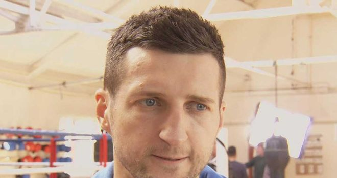 Carl Froch: Confident of Wembley success