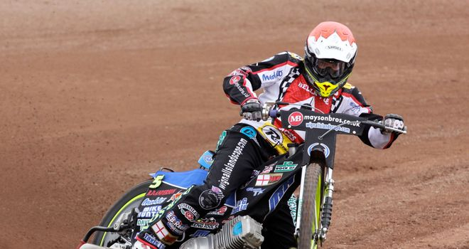Craig Cook: Starred for Belle Vue on Monday (Picture credit: Hayley Bromley)