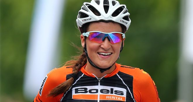Lizzie Armitstead: Second in Fleche Wallonne