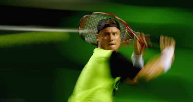 Lleyton Hewitt: Needed three sets to progress