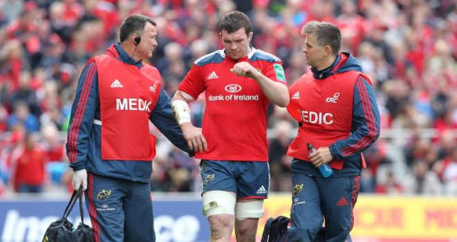 Peter O'Mahony: Underwent shoulder surgery on Wednesday morning