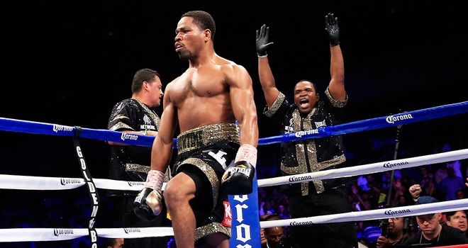Shawn Porter: pounded Paulie Malignaggi to a halt in the fourth round