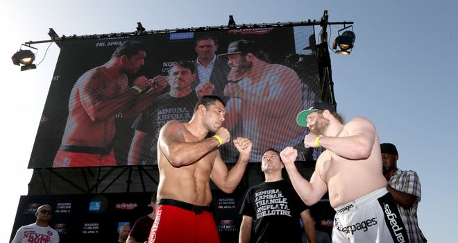 Roy Nelson (R): Was totally dominant against 'Minotauro' Nogueira