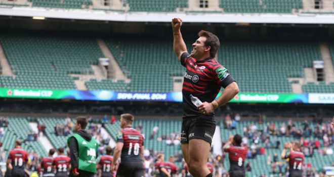 Schalk Brits: One of three Saracens nominated