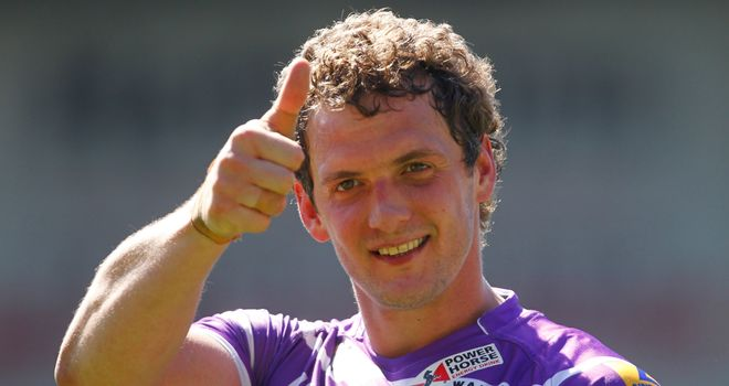 Sean O'Loughlin gives the thumbs up following Good Friday's win over Saints