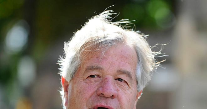 Sir Michael Stoute: Is hopeful of landing another Lingfield Derby Trial.