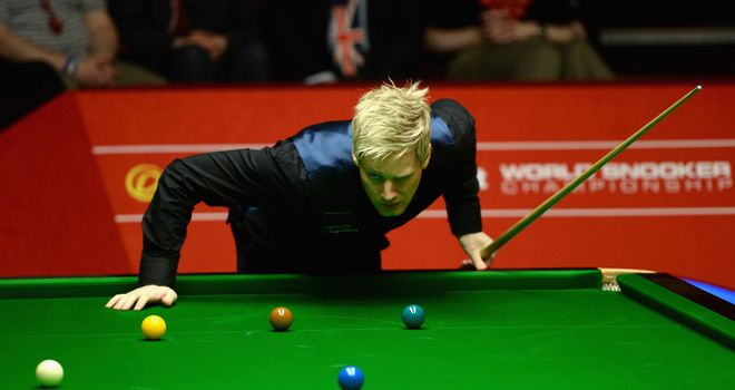 Neil Robertson: 6-3 victory over Barry Hawkins