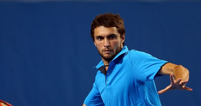 Gilles Simon: Fell at the first hurdle in Casablanca