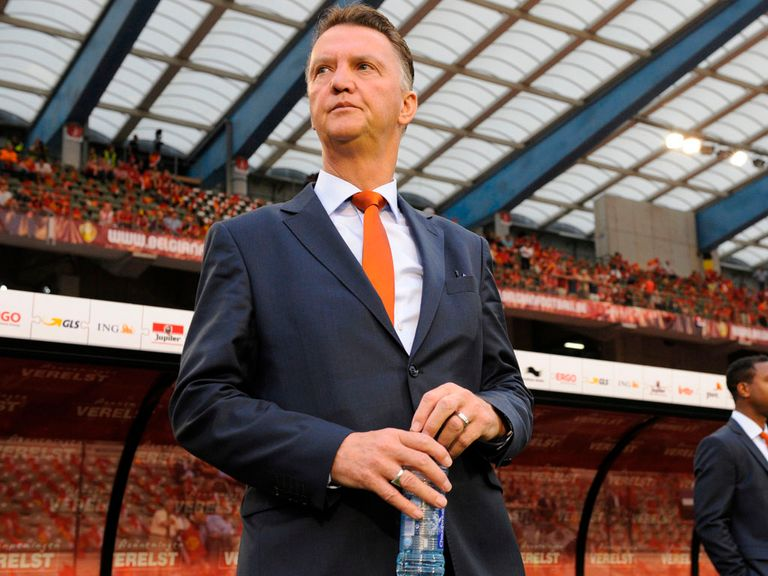 Louis van Gaal: Backed by McClaren for the Man United job